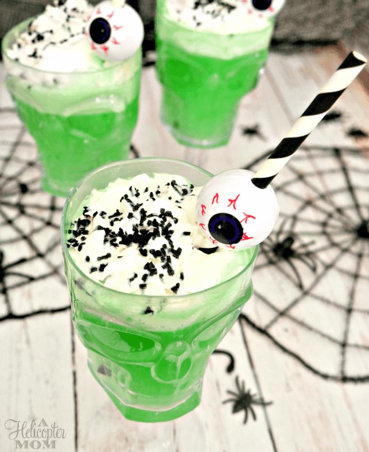bebidas para Halloween para niños