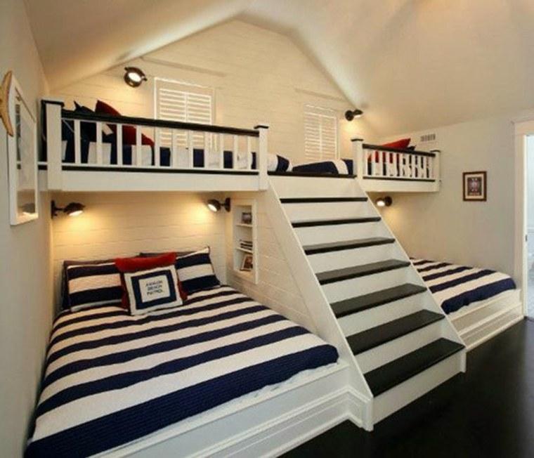estupendas habitaciones compartidas con literas
