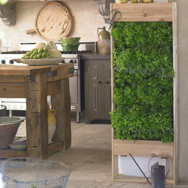 plantar un jardín vertical