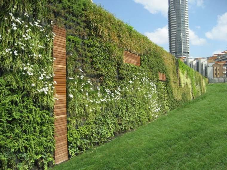 bonitos jardines verticales