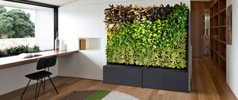 estupendos jardines verticales