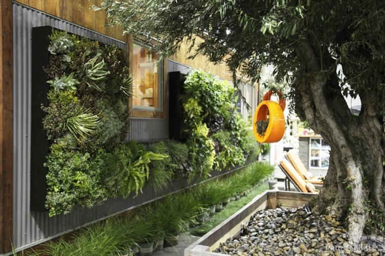 jardines verticales modernos