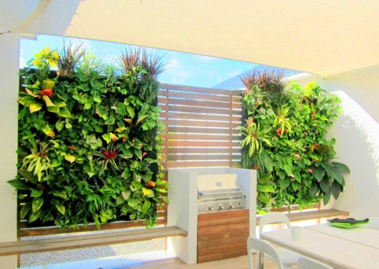 jardines verticales impresionantes