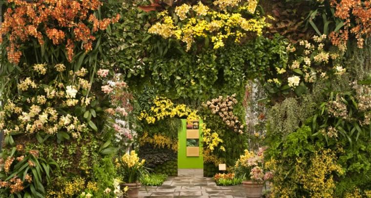 gorgeous vertical gardens