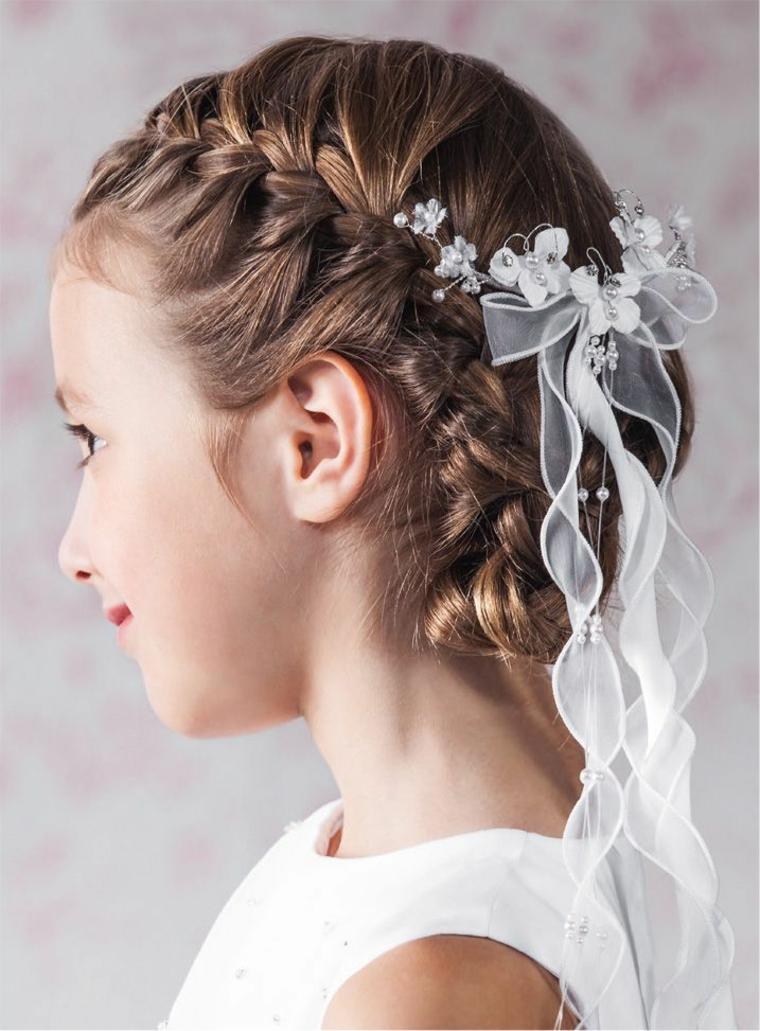 Peinados Para Bautizo Estilos Y Cortes De Cabello Elegantes