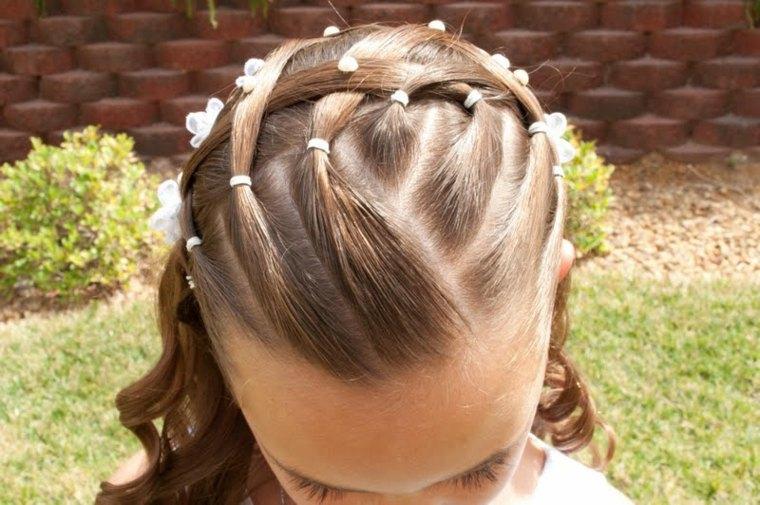 Peinados Para Bautizo Estilos Y Cortes De Cabello Elegantes - Peinados-para-un-bautizo-de-dia