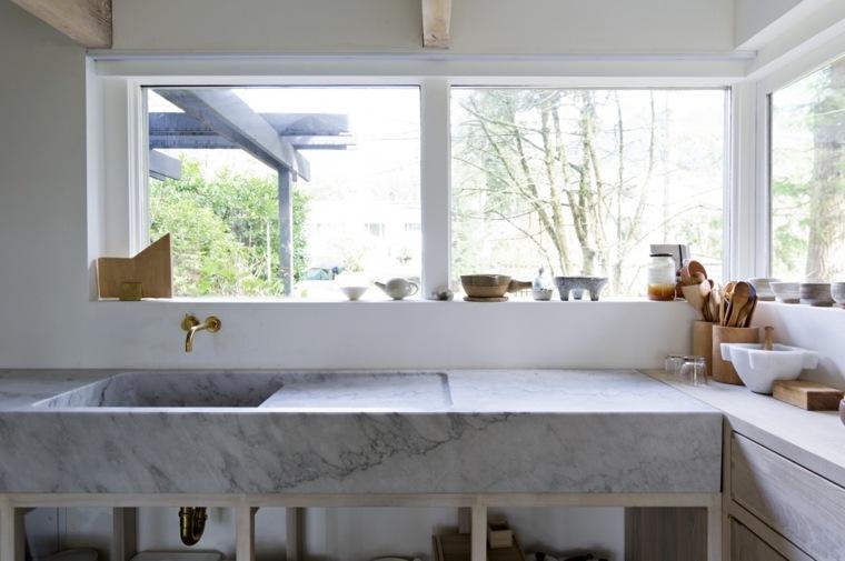 Scott-and-Scott-Architects-diseno-casa-lavabo-marmol