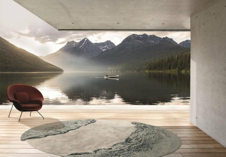 alfombras lagos inspiradores paisajes