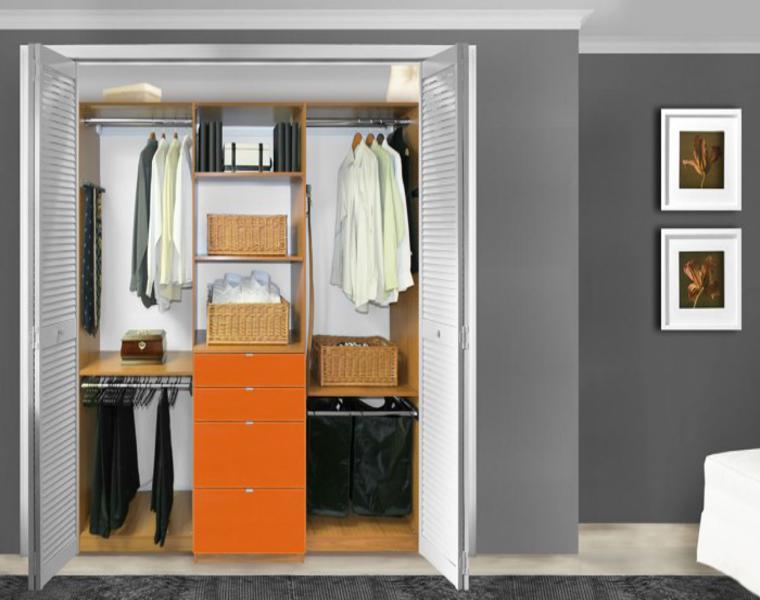 ideas para armario vestidor