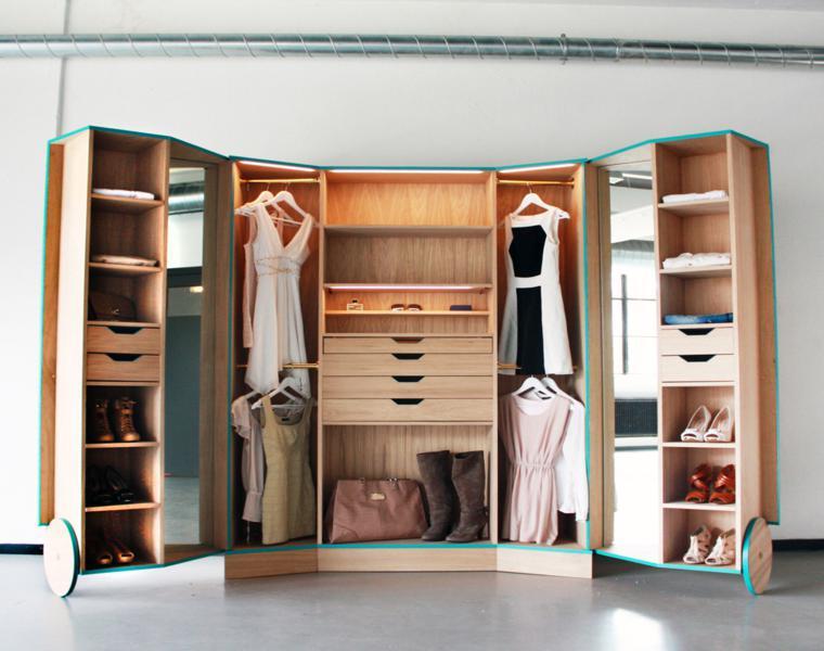 ideas para un armario vestidor