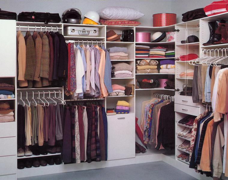ideas para armarios vestidores