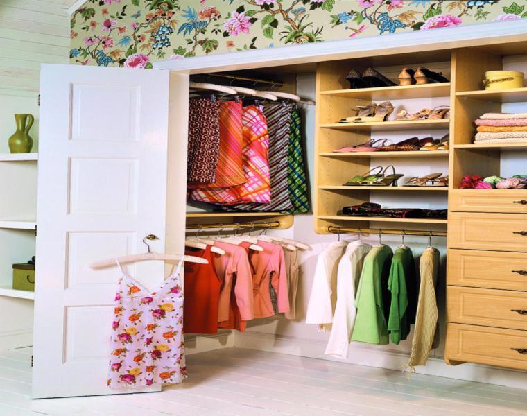 originales ideas para armario vestidor