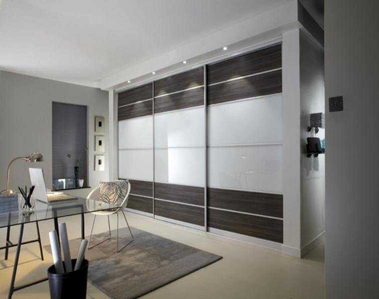 modernas ideas para armario vestidor