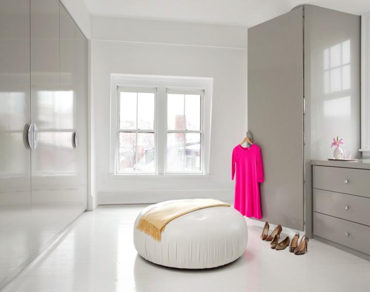 lujosas ideas para armario vestidor