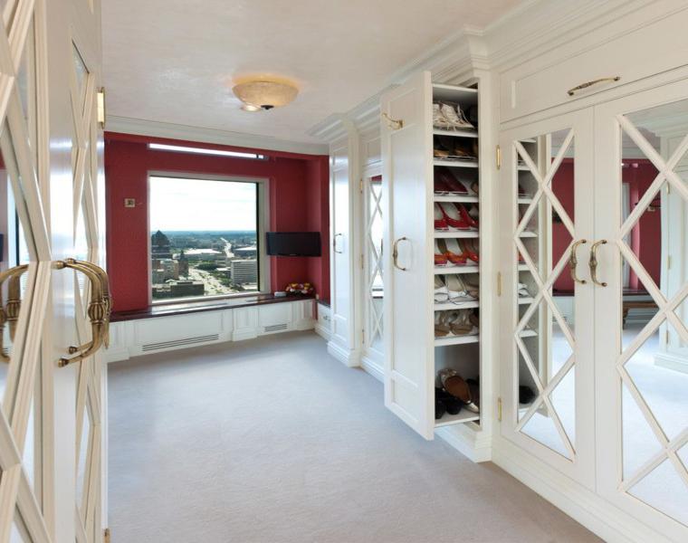 consejos e ideas para armario vestidor