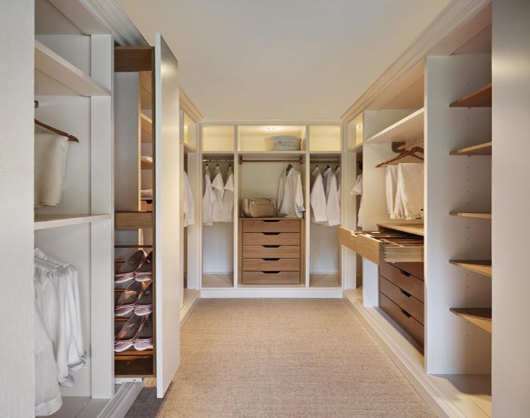 consejos e ideas para organizar vestidores