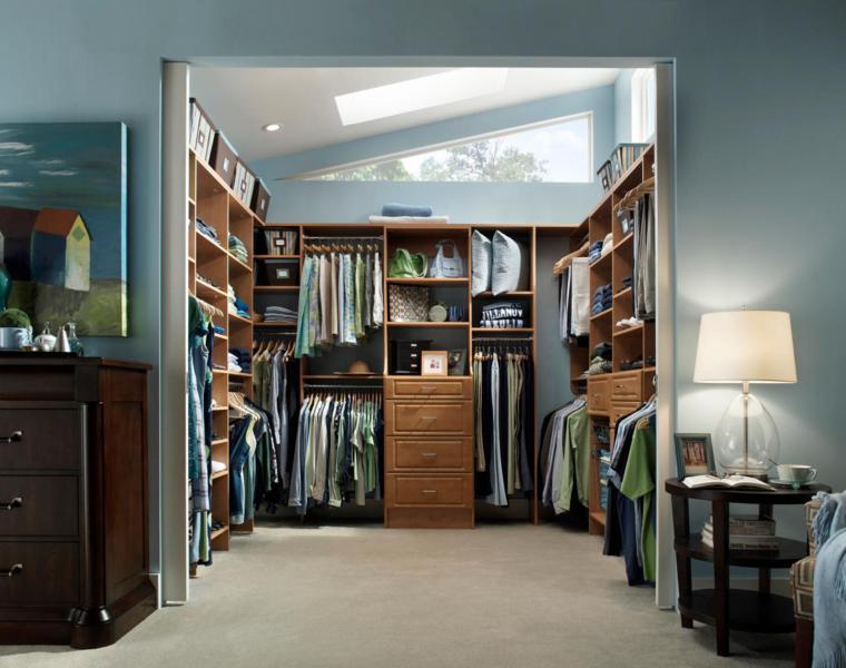 consejos e ideas para organizar un armario