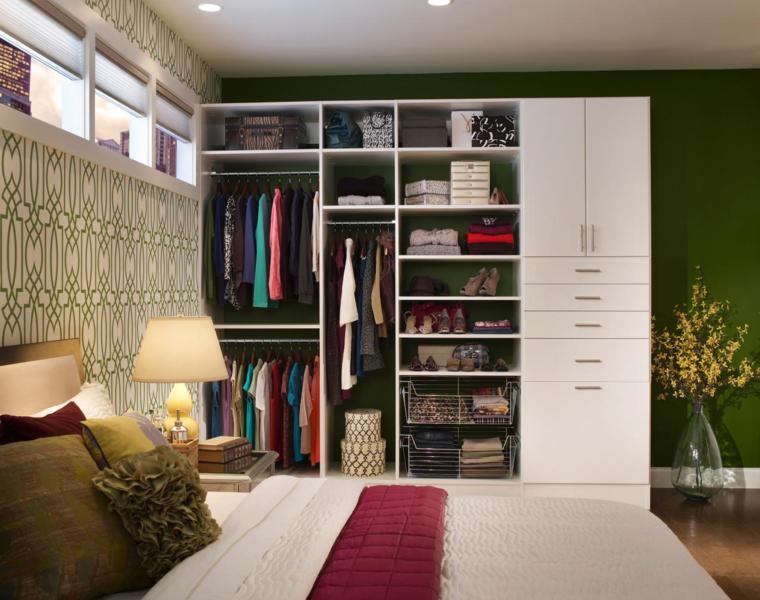estupendas ideas para organizar un armario vestidor