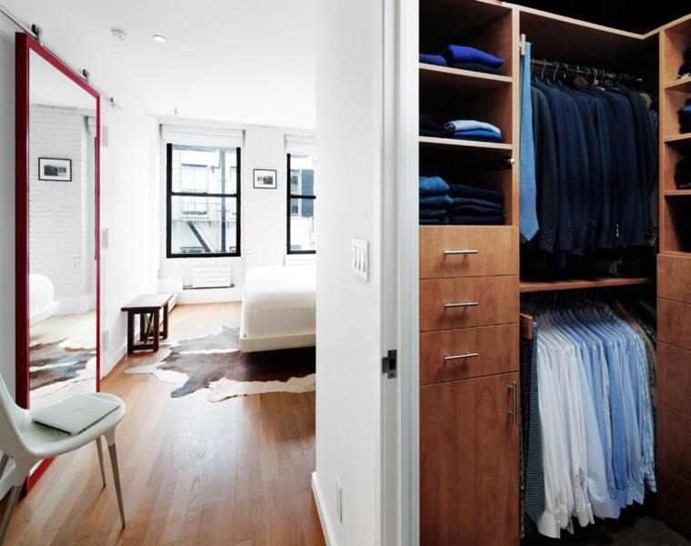 diseños de armarios vestidores