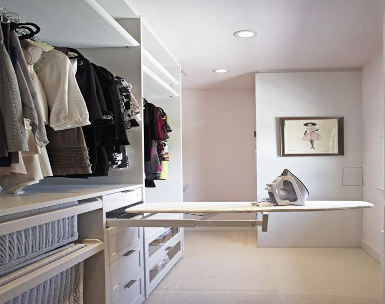 funcionales diseños de armarios vestidores