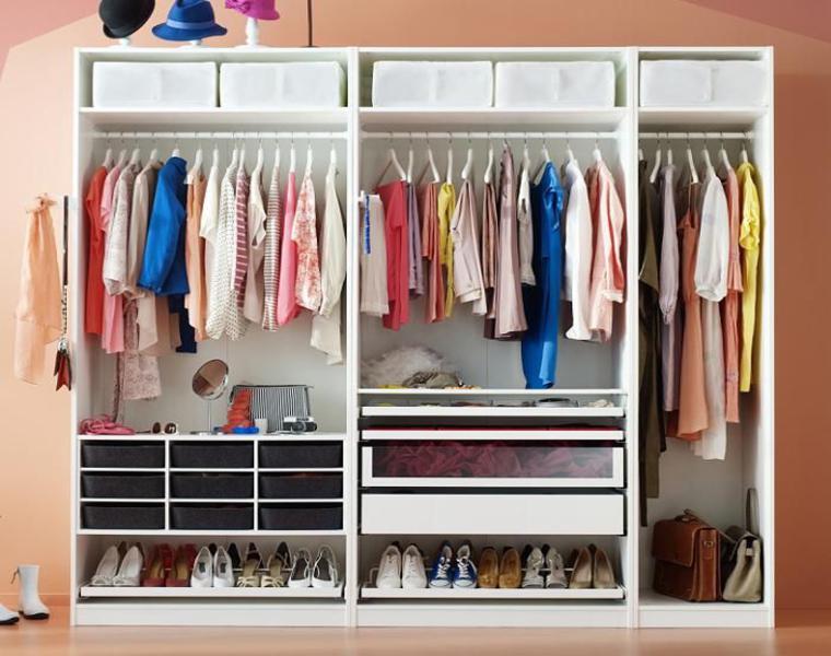 consejos e ideas para vestidores