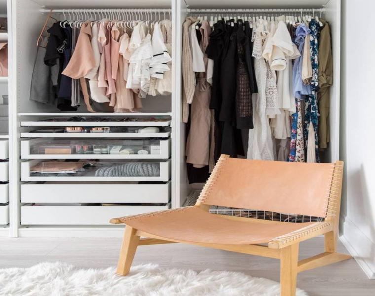consejos e ideas para organizar armarios