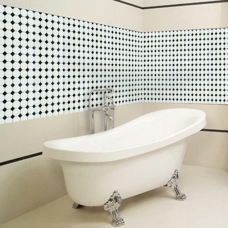 Azulejos para cuartos de ba o consejos para disfrutar - Bano azulejo blanco ...