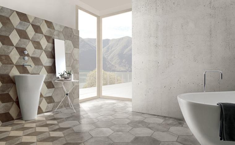azulejos-para-cuartos-de-bano-opciones-formas-geometricas