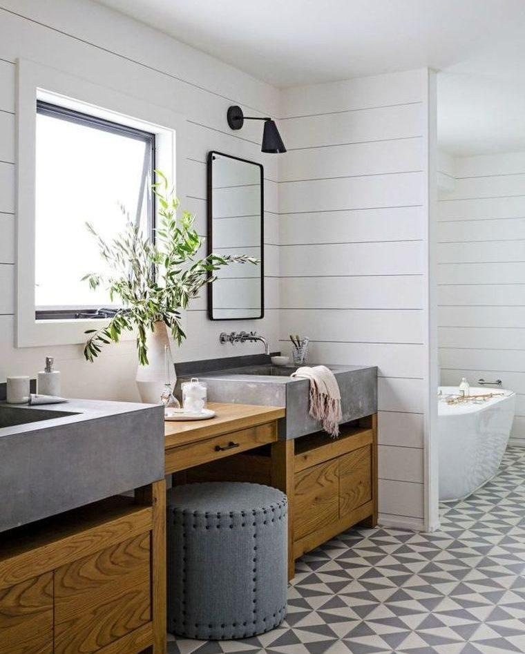 Las mejores fotos de cuartos de ba os encontradas en - Azulejos hexagonales ...