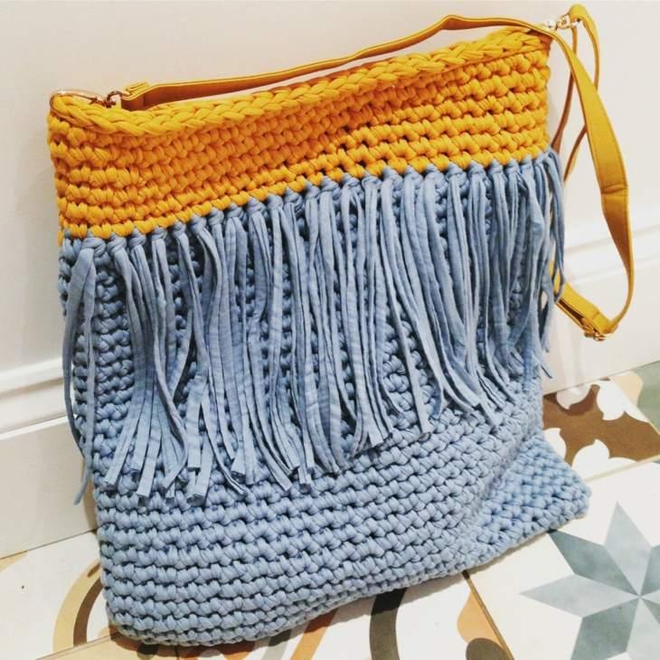 bolsos de trapillo moda moderna