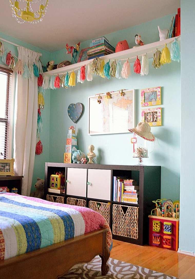Ideas para decorar dormitorios infantiles pequeños
