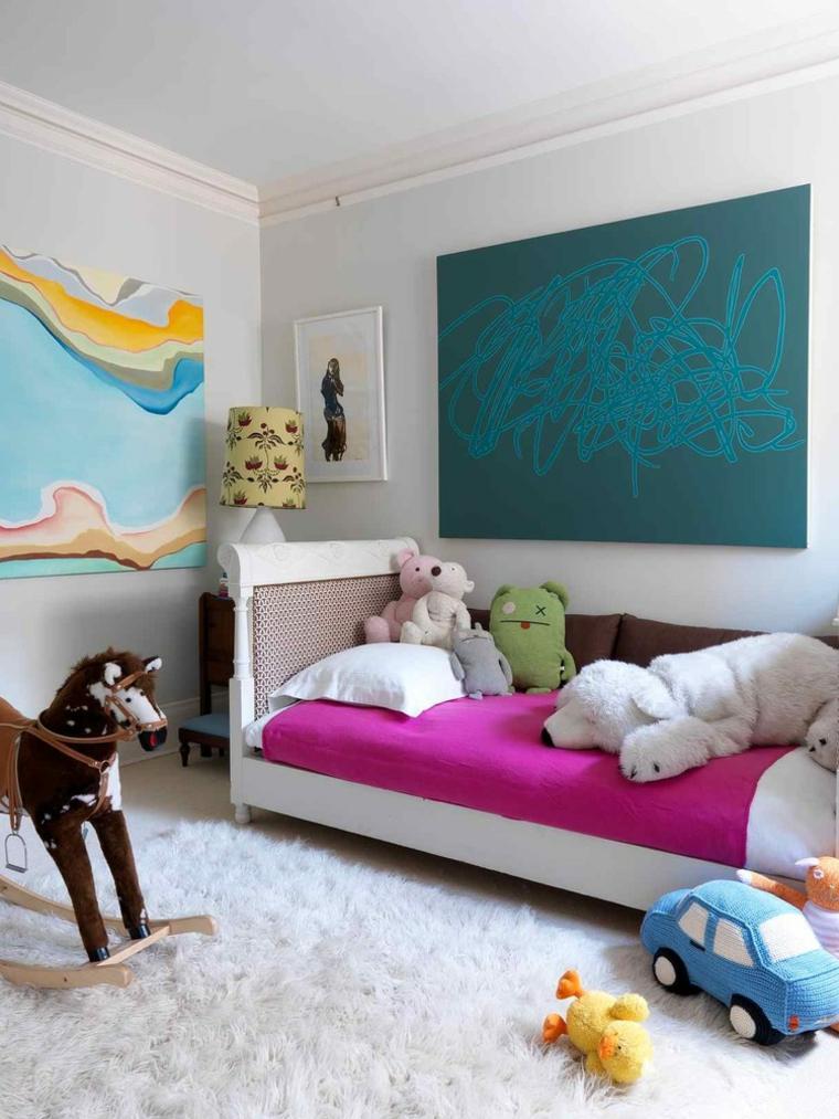 cómo decorar habitaciones infantiles originales
