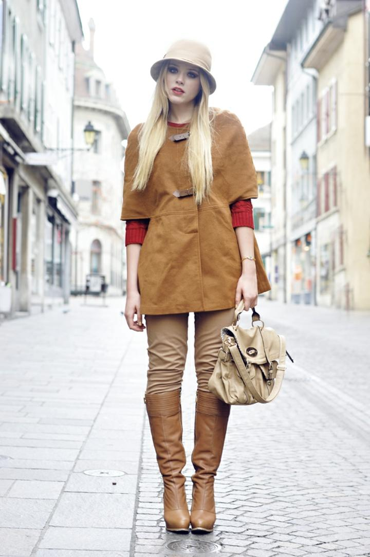 botas altas estilo fresco invernal