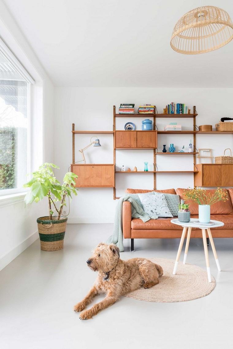 casa blanca-ideas-originales-muebles-pared