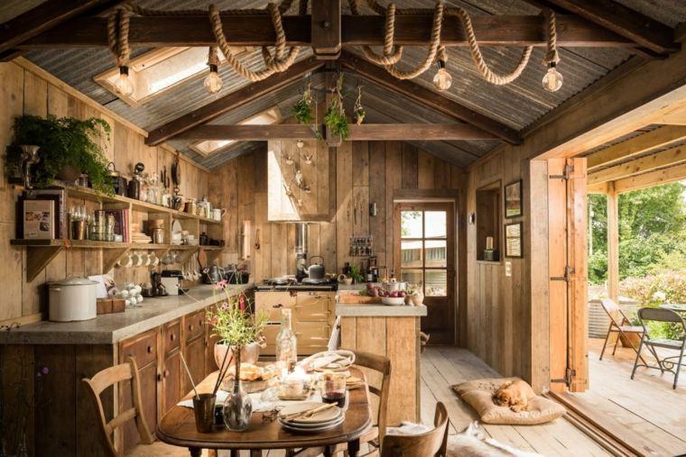 casa-diseno-abierto-cocina-rustica-ideas