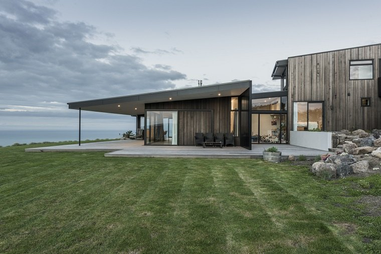 Casa rural moderna con impresionantes vistas de cymon allfrey architects for Casas rurales modernas