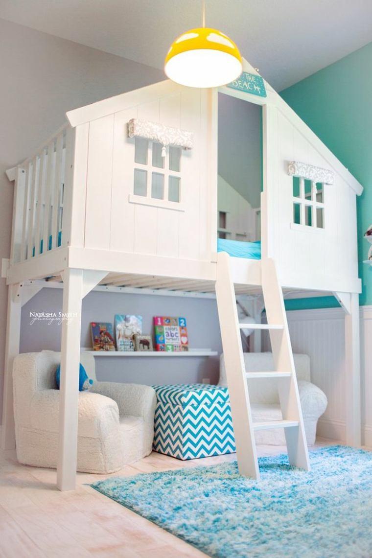 decorar dormitorios infantiles pequeños
