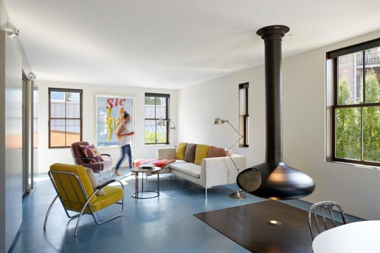chimenea-colgando-techo-salon-moderno-opciones