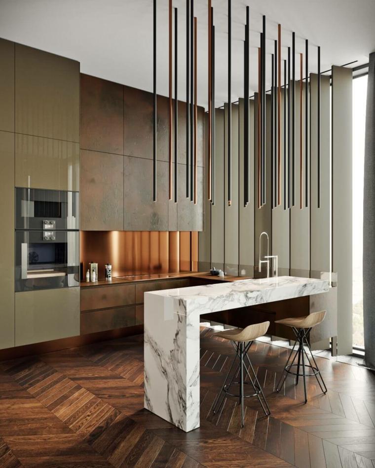 cocina-barra-marmo-opciones-estilo-tolko-interiors
