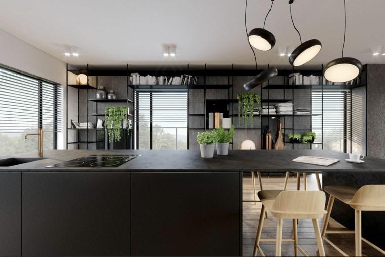 Cocina Con Granito : Cocina de granito negro fotos inspiradoras