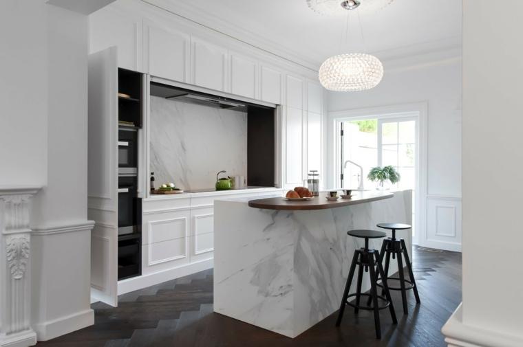 cocina-diseno-Minosa-Design-isla-bella-marmol