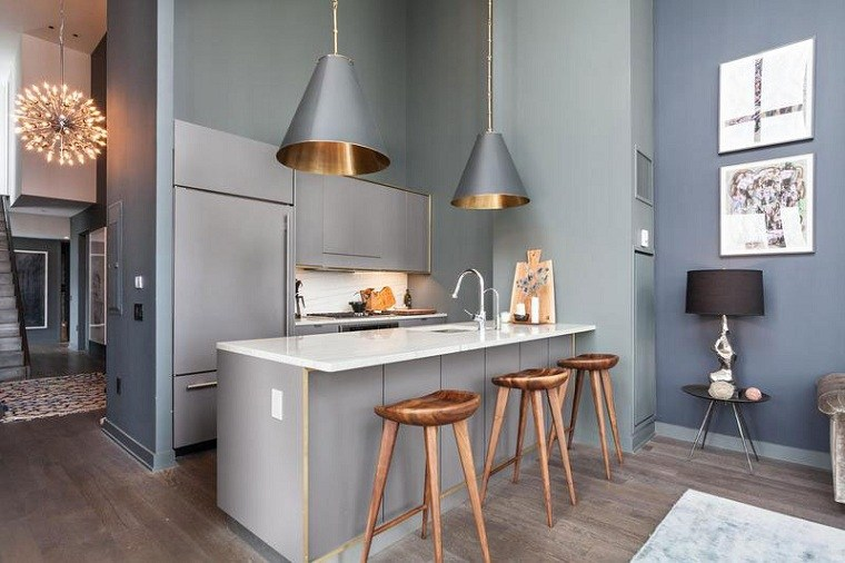 cocina-diseno-espacios-pequenos-gris