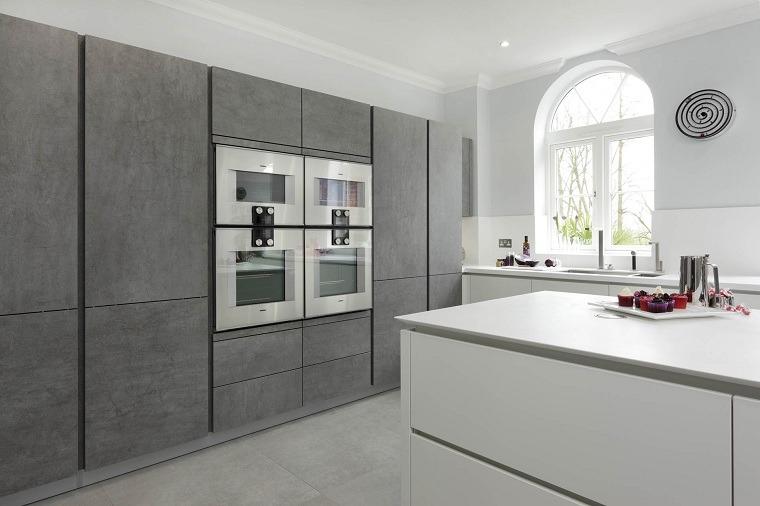 cocina-diseno-minimalista-blanco-gris