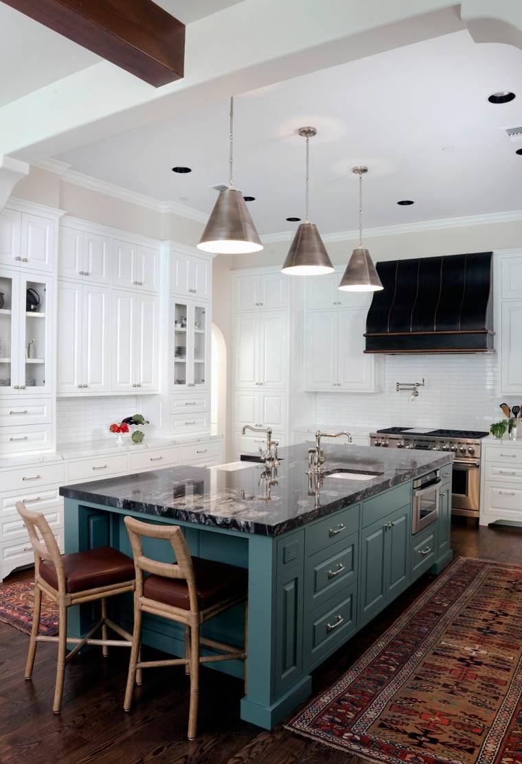 Encimeras cocina 66 ideas incre bles de encimeras de m rmol - Encimera marmol ...
