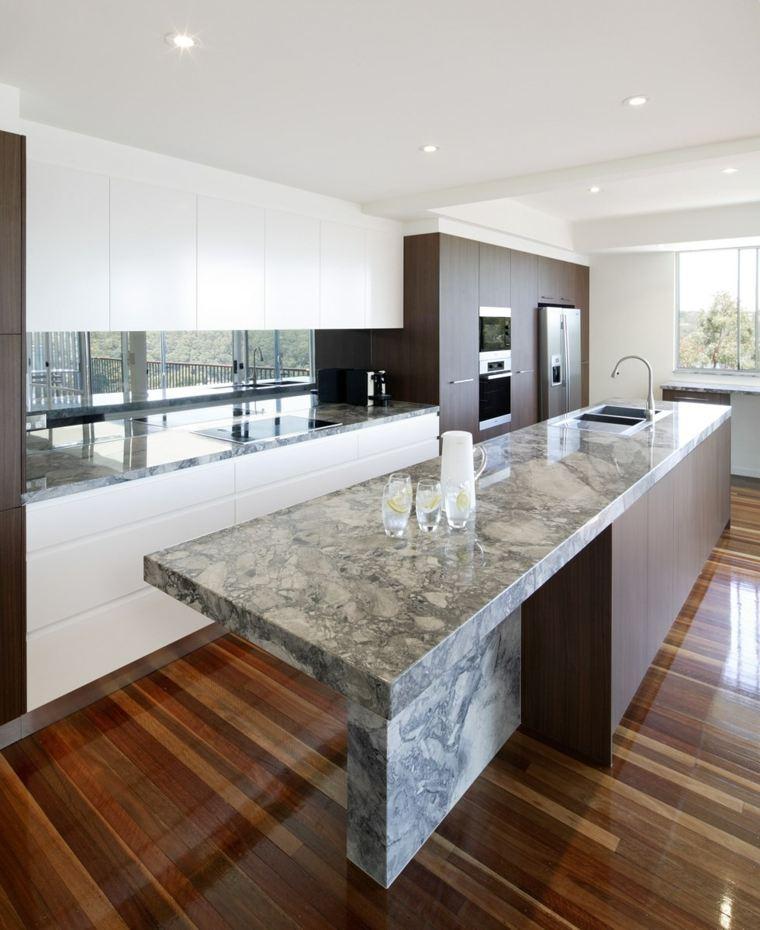 cocina-marmo-bello-isla-elegante-opciones