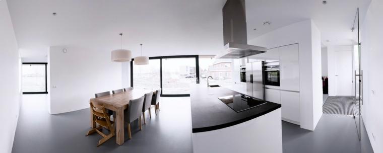 cocina moderna amplia espectacular