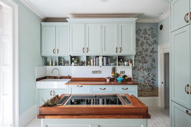 Cocinas peque as con isla 20 ideas en fotos y consejos for Cocinas integrales con isla pequenas