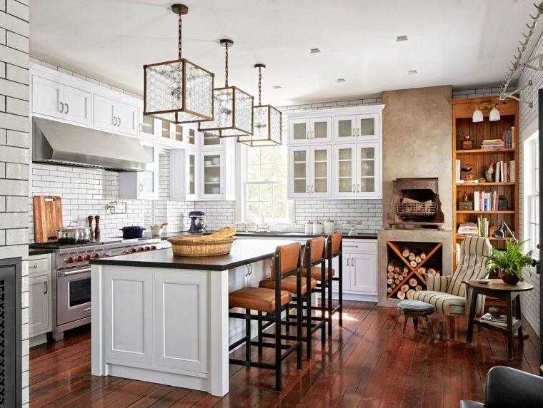 cocinas-de-granito-negro-estilo-moderno-isla