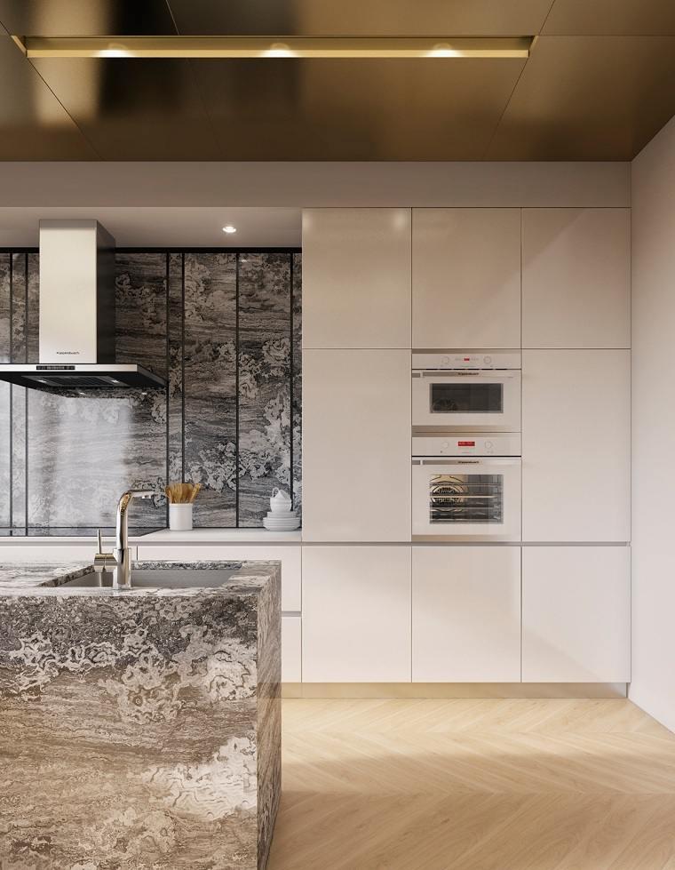 cocinas-modernas-blancas-y-grises-marmol