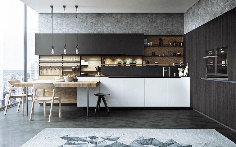cocinas-modernas-blancas-y-grises-negras-diseno